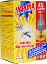 VAPONA Insecten Bestrijding- Anti Mug Stekker navulling