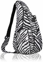 The Healthy Back Bag Polyester Zebra Small
