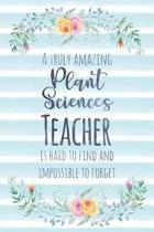 A Truly Amazing Plant Sciences Teacher Is Hard to Find and Impossible to Forget