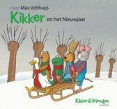 Boek cover Kikker - Kikker en het Nieuwjaar van Max Velthuijs