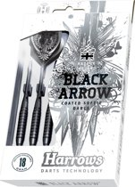 Harrows Black Arrow Softtip 18 Gk2 - Dartpijlen