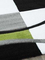 Spiral - Vloerkleed - 200x290 cm - Synthetisch - Groen