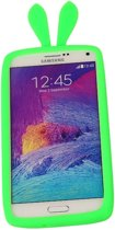 Groen Bumper Konijn Medium Frame Case Hoesje voor Samsung Galaxy A8 2016