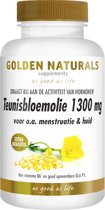 Golden Naturals Teunisbloemolie 1300 mg Extra Krachtig (120 softgel capsules)