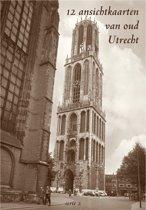 Utrecht - 12 ansichtkaarten van oud Utrecht (serie 2)