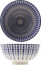 Cosy&Trendy Globulo Blue Kommetje - Ø 12 cm x 5.9 cm - Set-8