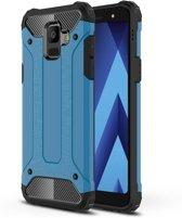 Armor Hybrid Hoesje Samsung Galaxy A6 (2018) - Lichtblauw