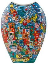 James Rizzi: City Birds - Vaas