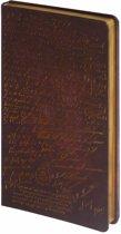 D1022-4 Dreamnotes notitieboek Manuscript 17,5 x 9 cm koper
