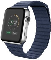 watchbands-shop.nl bandje - Apple Watch Series 1/2/3/4 (42&44mm) - Blauw