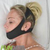 Zeer comfortabele Anti-Snurk Kinband, hoofdband die goed blijft zitten, geeft nachtrust, uniseks, stopt snurken.
