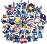 45 Stitch stickers ( Lilo & Stitch ) 5x5 cm voor Agenda laptop  skateboard fiets etc.