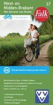 Falkplan fietskaart 17 - West-en Midden Brabant