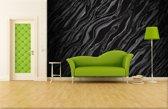 Fotobehang Vlies   Abstract   Zwart   368x254cm (bxh)