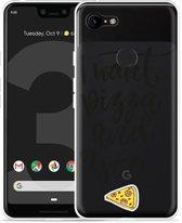 Google Pixel 3 Hoesje I Want pizza