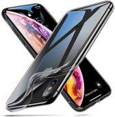ShieldCase Ultra thin iPhone X / Xs + gratis glazen Screenprotector case transparant silicone