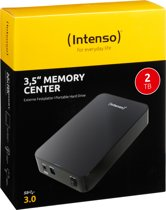 Intenso Memory Center externe harde schijf 2048 GB Zwart