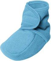 Playshoes Babyschoenen Fleece Junior Aqua Maat 18/19
