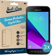 Just in Case Screen Protector Samsung Galaxy Xcover 4/Xcover 4s - Crystal Clear - 3 stuks