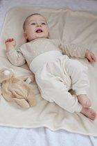 Babybroekje biologisch velours- Ecru (Wooly Organic) |  68