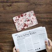 Apple iPad Mini 4 Uniek Tablethoesje Watercolor Flowers