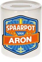 Kinder spaarpot voor Aron