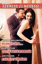 Szeress és nevess! 54. kötet - Velencét látni…, Csetlő-botlo nyomozok, A szeretet törvénye