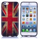 Gel print hoesje iPhone 6 Plus UK flag
