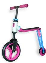 Scoot & Ride | Highway Buddy |  Step en Loopfiets in één | Roze/Blauw