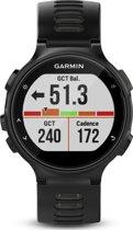 Garmin Forerunner 735XT black grey - GPS multisporthorloge met polshartslag meting - Ø 44.5 mm - zwart/grijs