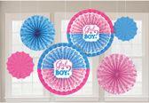 fan decoraties - girl or boy? - gender party