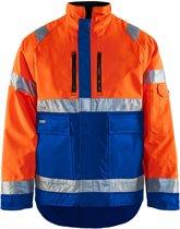 Blåkläder 4827-1977 Winterjas High Vis Oranje/Korenblauw maat XXXL