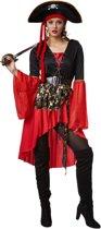 dressforfun 301776 Vrouwenkostuum Piratenkoningin voor dames vrouwen L verkleedkleding kostuum halloween verkleden feestkleding carnavalskleding carnaval feestkledij partykleding