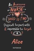 Alice - Notebook