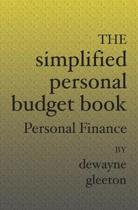 The Simplified Personal Budget Book: Personal Finance