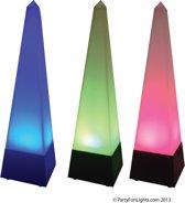 PYRAMID – COLOR CHANGING MOOD LAMP, 4,5Volt adapter