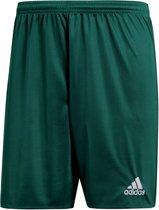 adidas Parma 16 Shorts Heren Sportbroekje - Collegiate Green/White - Maat S