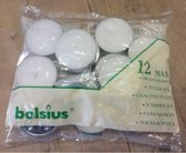 Bolsius Theelichten Maxi - 9 uur - Zak a 12 stuks