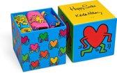 Happy Socks Keith Haring 3-Pack Giftbox, Maat 36-40