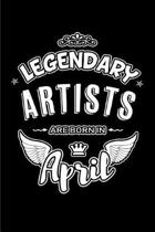 Legendary Artists Are Born in April