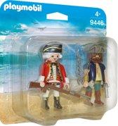 PLAYMOBIL DuoPack Piraat en soldaat - 9446