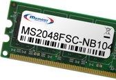 Memory Solution MS2048FSC-NB104 2GB geheugenmodule