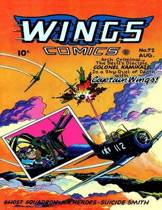 Wings Comics #72