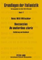 Boccaccios de Mulieribus Claris
