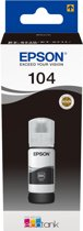 Epson 104 EcoTank - Inktfles / Zwart