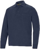 Snickers Rugby Shirt - Workwear - 2712 - Donkerblauw - maat M