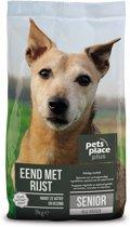 Pets Place Plus Hond Senior - Hondenvoer - Eend - 3 kg