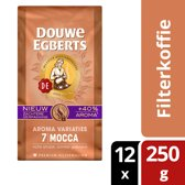 Douwe Egberts Mocca Filterkoffie - 12 x 250 gram