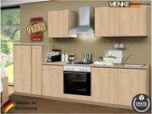 Menke® keuken 'Oslo' compleet incl. apparatuur, 300 cm.