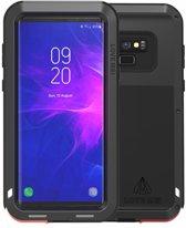Metalen hoes voor Samsung Galaxy Note 9, Love Mei, metalen extreme protection case, zwart